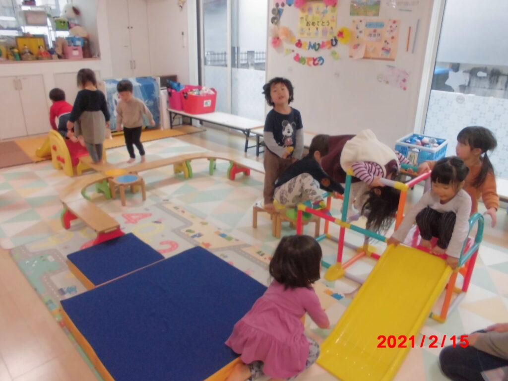 みどりっこはうす満3歳児の部屋2