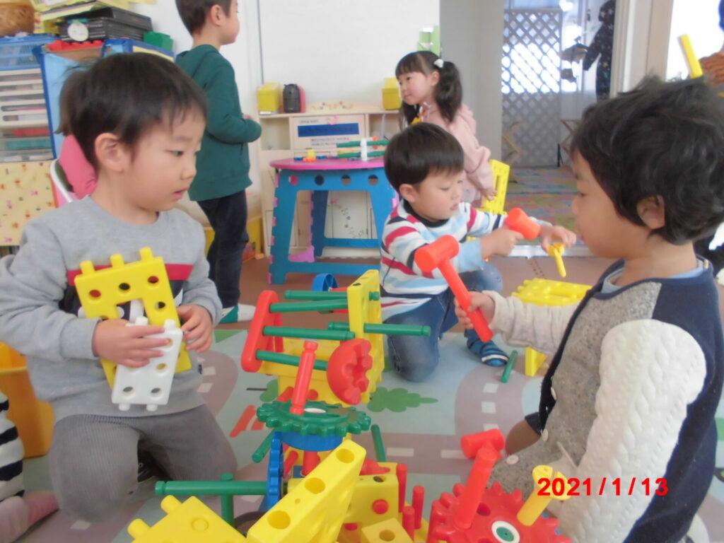 みどりっこハウス満3歳児の部屋